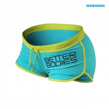 Спортивные шорты Better Bodies Contrast Hotpants Aqua / Lime